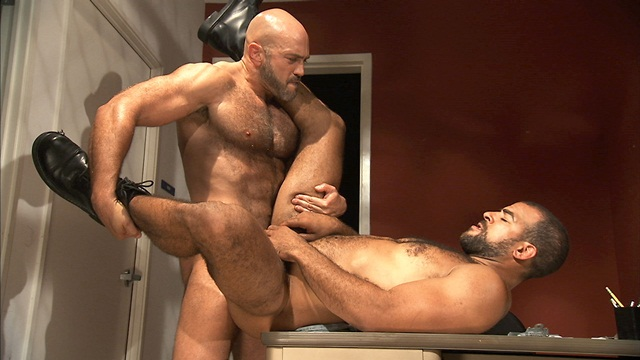 TitanMen bearded alphamale Jesse Jackman ass fucked bottoms Roman Wright 4 download full movie torrents and gay porn photo gallery Titan Men: Jesse Jackman with Roman Wright