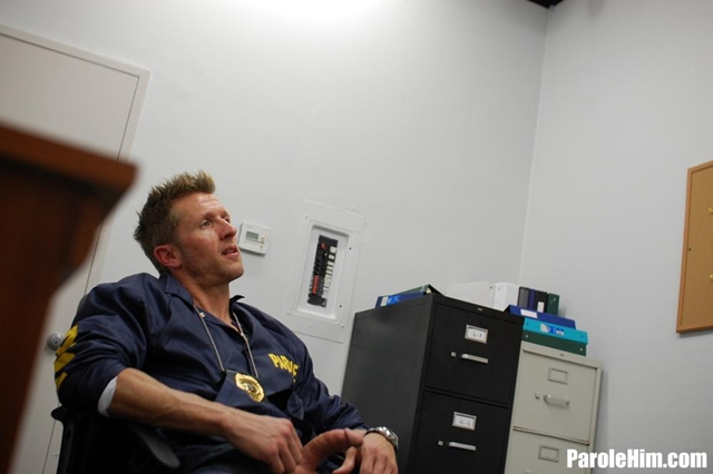 Prisoner blowjob Benny G forced to suck officer Johnson dick for favors at Parole Him 02 Ripped Muscle Bodybuilder Strips Naked and Strokes His Big Hard Cock torrent photo1 - Prisoner blowjob Benny G forced to suck officer Johnson dick for favors