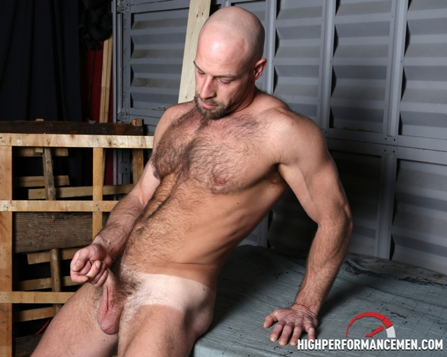 Hairy-muscle-body-Dirk-Willis-strokes-huge-cock-High-Performance-Men-05-photo