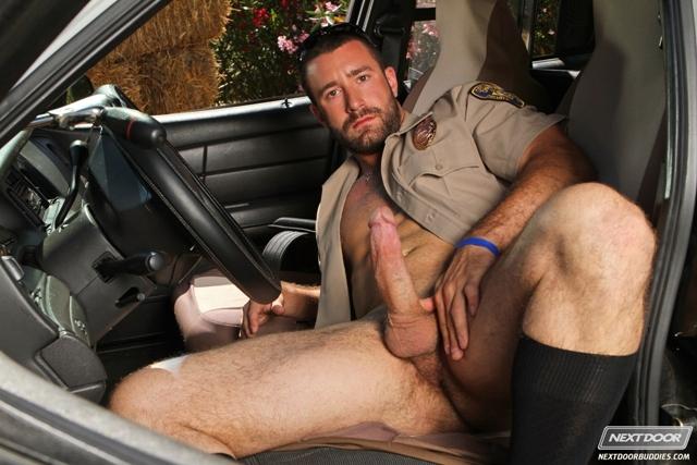Sexy gay cop Vinny Castillo fucks ass of Ray Diaz gay sex police car Next Door Buddies 05 photo - Sexy gay cop Vinny Castillo fucks ass of Ray Diaz in back of police car at Next Door Buddies