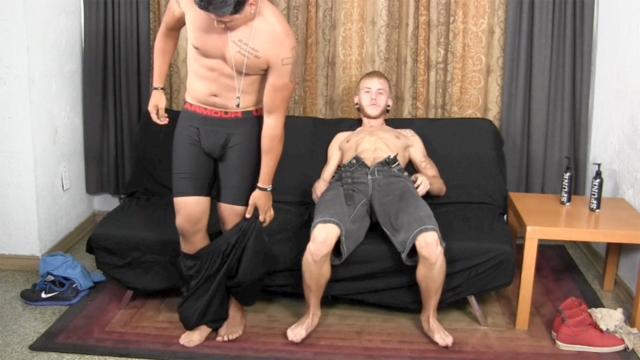 Aaron and Cody Straight Fraternity bareback straight boy men go gay for pay raw sex condom free fucking young sexy guys 03 pics gallery tube video photo - Aaron and Cody