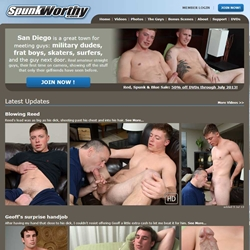 Spunkworthy Amateur Guys Gay Straight Jerking Off 01 gay porn reviews pics gallery tube video photo - Porn Site Reviews - Spunkworthy