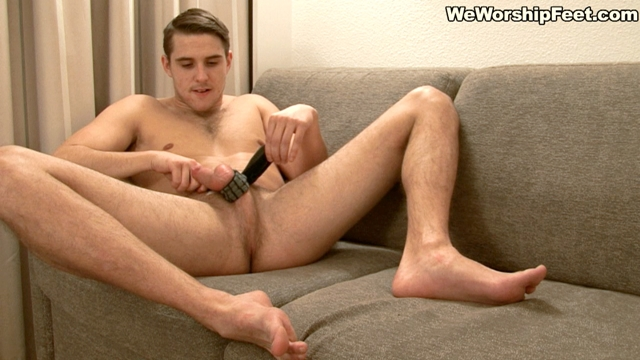 We-Worship-Feet-Sexy-young-stud-Pete-jerks-big-cock-sweaty-socks-foot-orgasm-cumming-bare-feet-006-male-tube-red-tube-gallery-photo