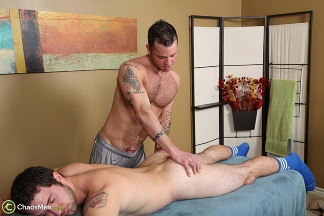 Chaos Men Gennaro Bay topping guy massage receiving head amazing ass fuck hairy asshole 004 male tube red tube gallery photo - Bay and Gennaro