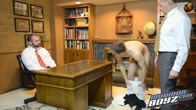 MormonBoyz Mormon Boyz Elder Kensington shaved balls Mormons tight underwear scrotum sperm priesthood 010 male tube red tube gallery photo - Elder Kensington