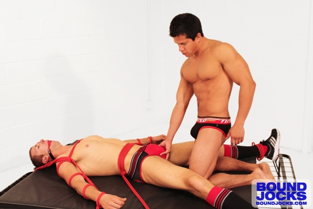 Bound Jocks AJ Irons unties Johnny Lawless legs fucks his ass 01 Ripped Muscle Bodybuilder Strips Naked and Strokes His Big Hard Cock torrent photo1 - Bound Jocks - AJ Irons unties Johnny Lawless' legs, throws them over his shoulders and fucks his ass