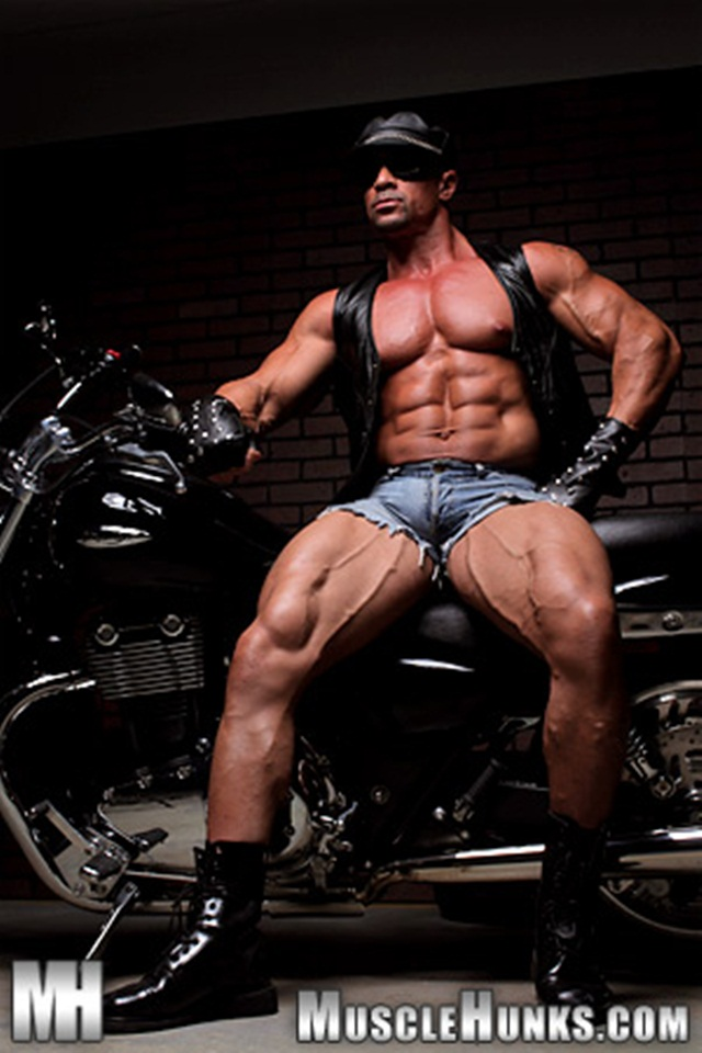 Eddie Camacho at Muscle Hunks