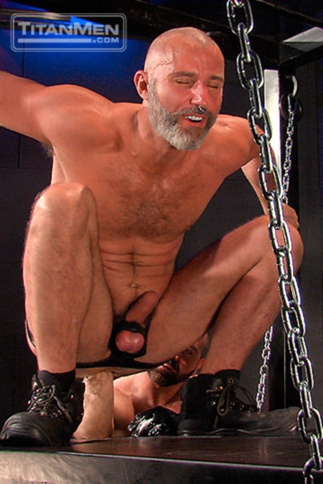 Josh West and Thor Larsson Titan Men gay porn stars rough older men anal sex muscle hairy guys muscled hunks 01 gallery video photo - Josh West and Thor Larsson