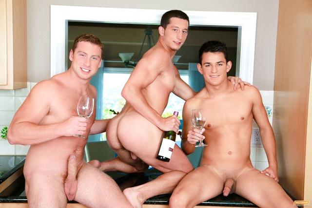 Connor Maguire, Josh Villa And Drake Tyler  Gay Threesome -9250