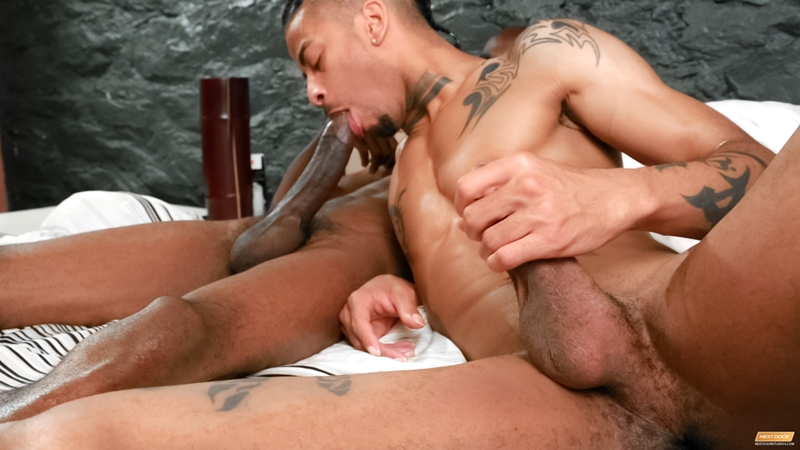 Ebony men sucking dick