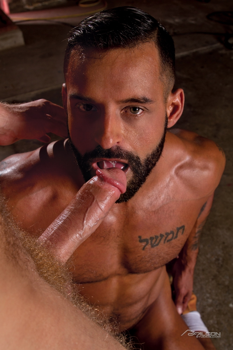 falcon studios  FalconStudios Sweat Brian Bonds David Benjamin ass fucking hairy chest naked men big cock blow job cum swallowing 007 tube video gay porn gallery sexpics photo Brian Bonds fucks David Benjamin