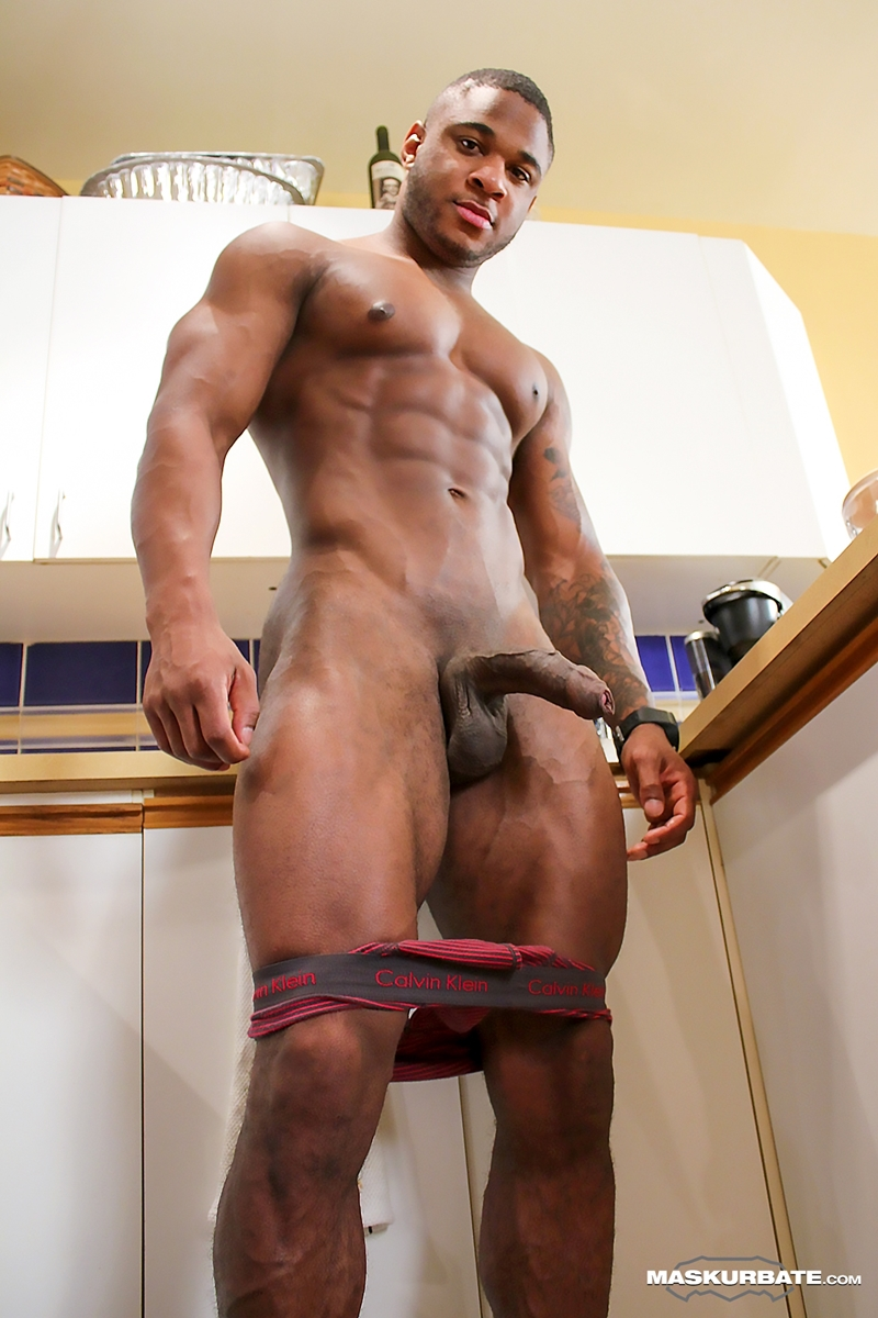 short black men nude