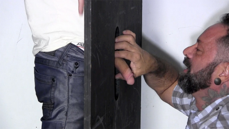 StraightFraternity Gage dick sucked gloryhole dumps huge cum load blowjob gay sex 003 tube download torrent gallery sexpics photo - Gloryhole Gage