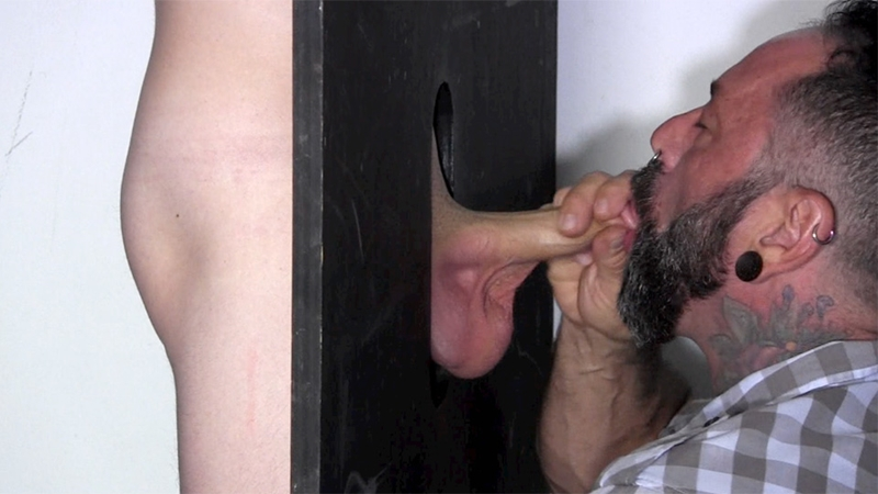 StraightFraternity Gage dick sucked gloryhole dumps huge cum load blowjob gay sex 004 tube download torrent gallery sexpics photo - Gloryhole Gage