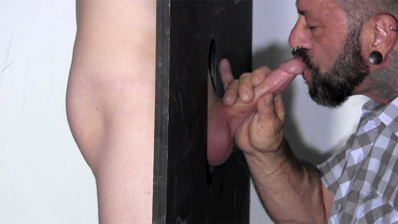 StraightFraternity Gage dick sucked gloryhole dumps huge cum load blowjob gay sex 005 tube download torrent gallery sexpics photo - Gloryhole Gage