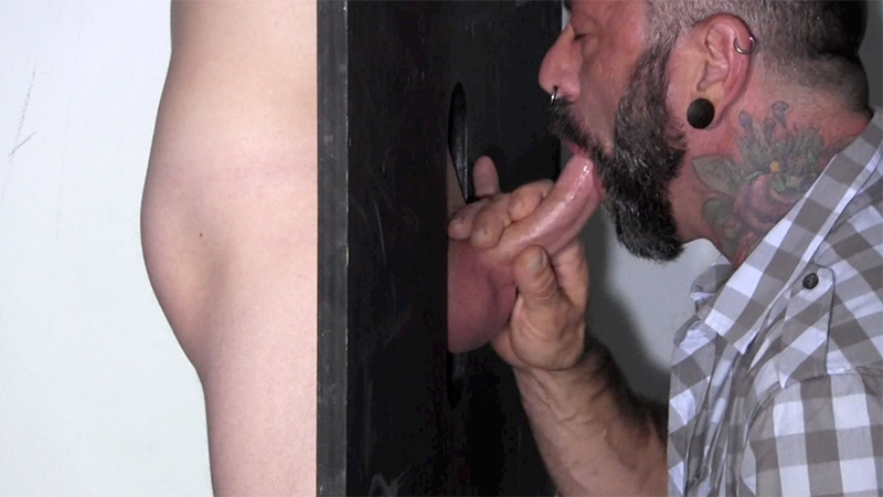 StraightFraternity Gage dick sucked gloryhole dumps huge cum load blowjob gay sex 008 tube download torrent gallery sexpics photo - Gloryhole Gage