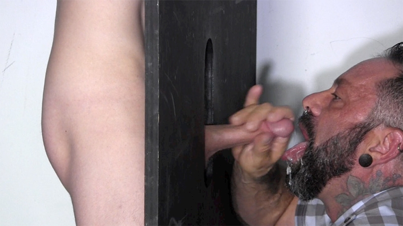 StraightFraternity Gage dick sucked gloryhole dumps huge cum load blowjob gay sex 010 tube download torrent gallery sexpics photo - Gloryhole Gage