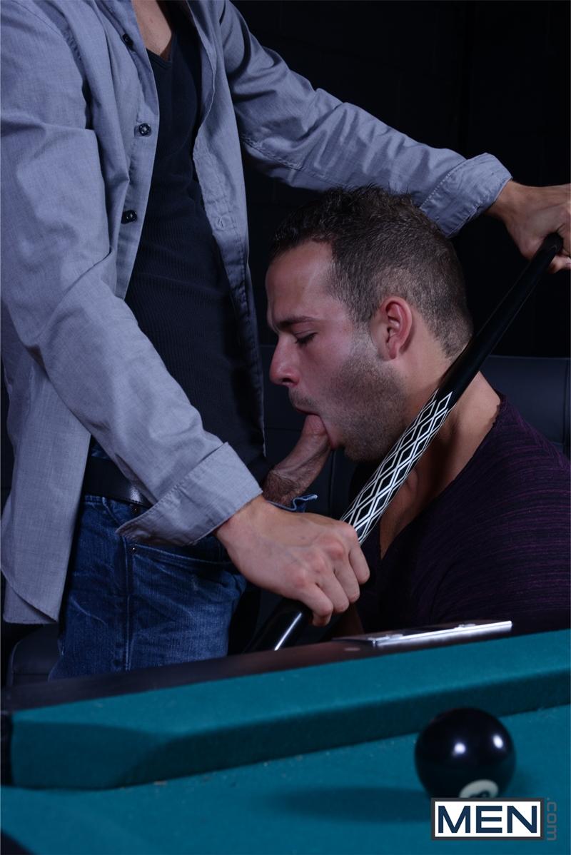 Men com Pool shark Luke Adams big dick stud gay porn star Johnny Rapid butt fucked guys hard cocks ass pounded 007 tube video gay porn gallery sexpics photo - Johnny Rapid and Luke Adams