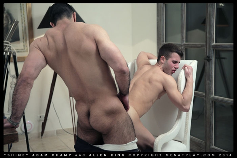 men at play  MenatPlay hairy chest hunk Adam Champ young well hung Allen King houseboy throbbing big dick anal fucking ass rimming 013 tube video gay porn gallery sexpics photo Hairy chested hunk Adam Champ fucks Allen King