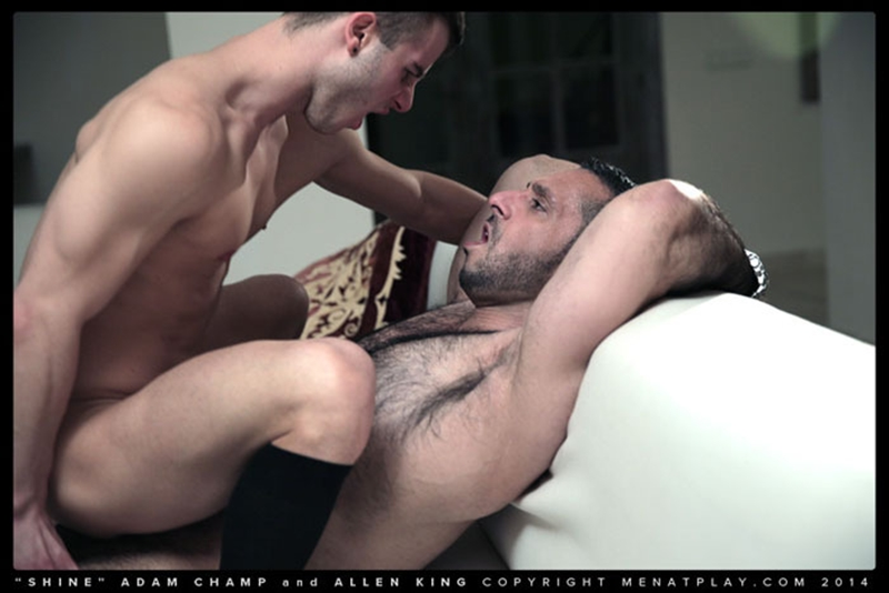 men at play  MenatPlay hairy chest hunk Adam Champ young well hung Allen King houseboy throbbing big dick anal fucking ass rimming 016 tube video gay porn gallery sexpics photo Hairy chested hunk Adam Champ fucks Allen King