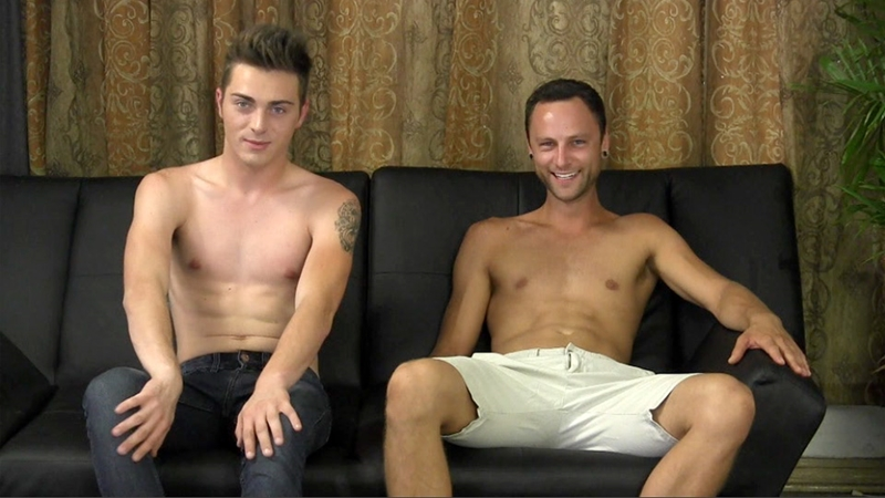 StraightFraternity Since 18 year old Gage and Alex cocksuckers fucking asshole thighs hairy smooth ass cracks jacking off straight boys 003 gay porn video porno nude movies pics porn star sex photo - Gage and Alex take turns lubing up their cocks and fucking each other's thighs and ass cracks