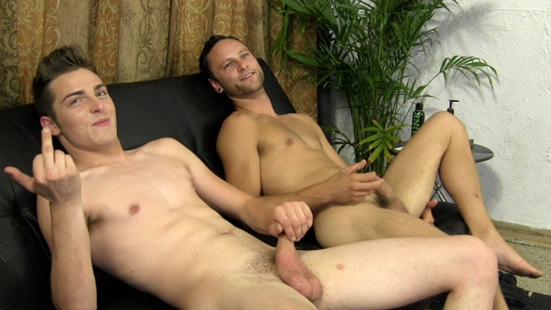 StraightFraternity Since 18 year old Gage and Alex cocksuckers fucking asshole thighs hairy smooth ass cracks jacking off straight boys 018 gay porn video porno nude movies pics porn star sex photo - Gage and Alex take turns lubing up their cocks and fucking each other's thighs and ass cracks