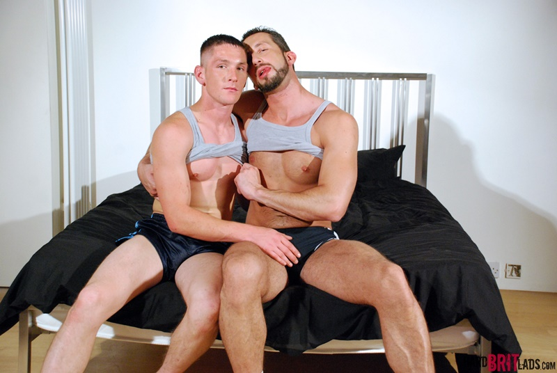 Andreas Cavalli practically fucks Billy Roberts' throat with his huge 8.5 inch cock