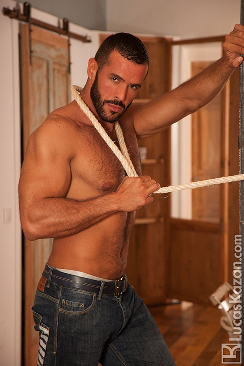 LucasKazan-sexy-Spanish-muscle-hunk-Denis-Vega-hairy-chest-Spaniard-real-muscled-man-huge-erect-dick-tanned-dark-hair-ripped-six-pack-abs-09-gay-porn-star-sex-video-gallery-photo