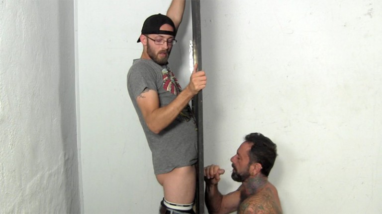 StraightFraternity Married straight guy Dee gloryhole big thick dick suck blowjob huge jizz load cocksucker mouth clean 001 gay porn tube star gallery video photo 768x432 - Married straight guy Dee gets his dicked sucked clean