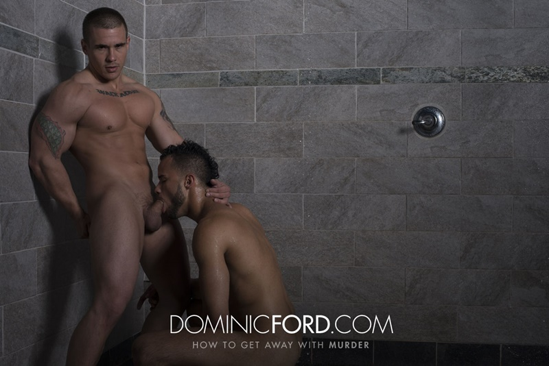 DominicFord hot naked ripped big muscle men Adam Bryant Javier Cruz huge dick fucking anal bubble butt asshole muscled dudes rimming 001 gay porn sex gallery pics video photo - Adam Bryant fucks the cum out of Javier Cruz's tight asshole