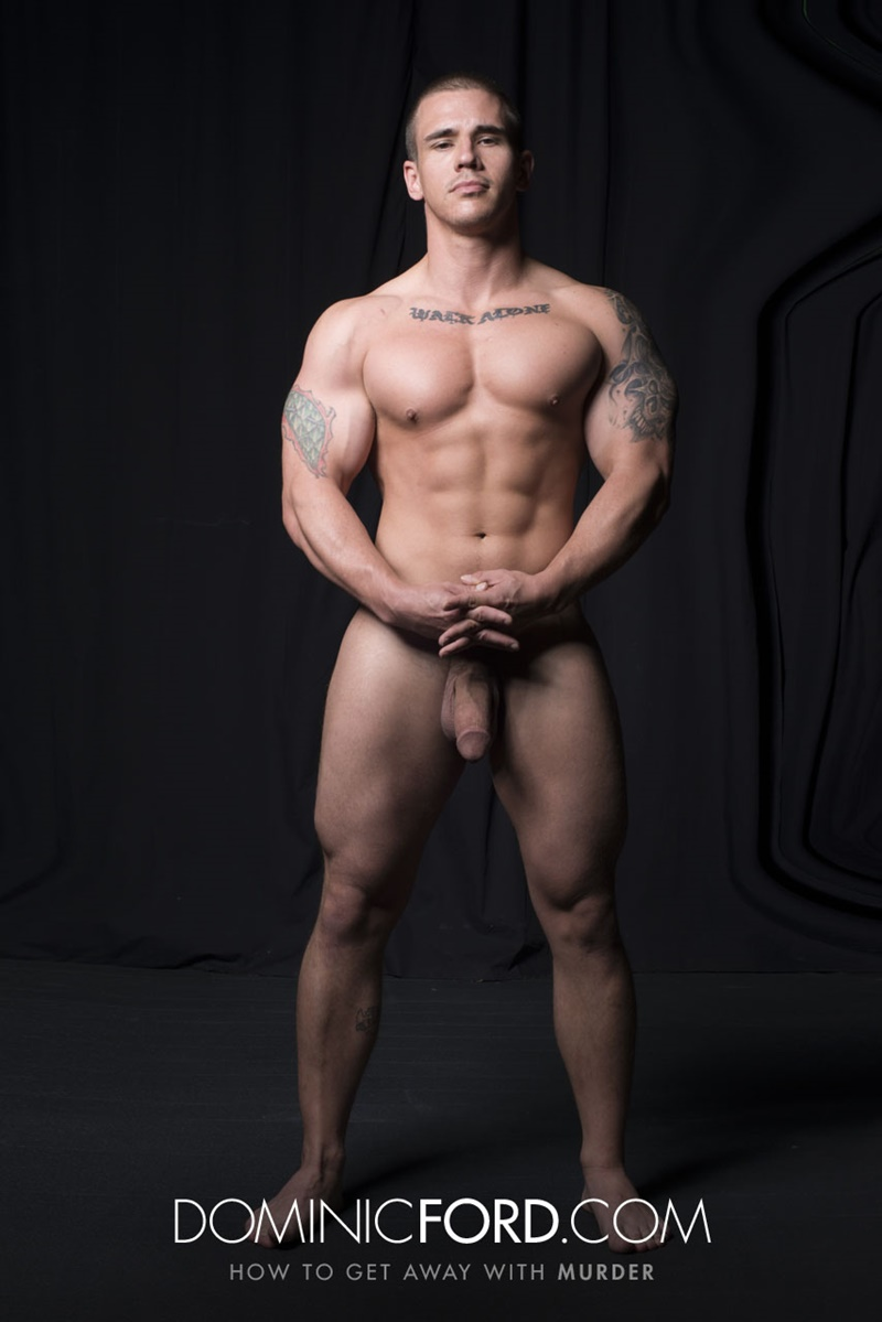 DominicFord hot naked ripped big muscle men Adam Bryant Javier Cruz huge dick fucking anal bubble butt asshole muscled dudes rimming 002 gay porn sex gallery pics video photo - Adam Bryant fucks the cum out of Javier Cruz's tight asshole