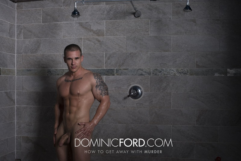 DominicFord hot naked ripped big muscle men Adam Bryant Javier Cruz huge dick fucking anal bubble butt asshole muscled dudes rimming 003 gay porn sex gallery pics video photo - Adam Bryant fucks the cum out of Javier Cruz's tight asshole