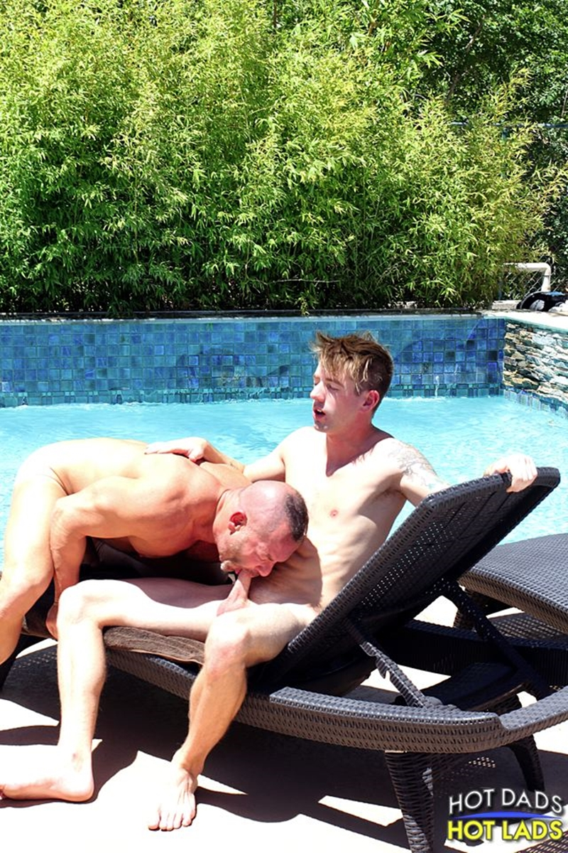 hot dads hot lads  Doug Jeffries and Sean Blue