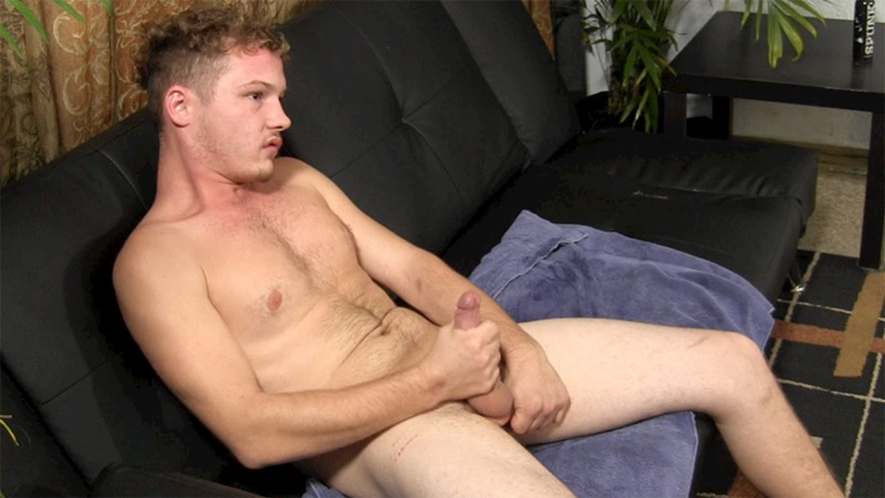 StraightFraternity naked hairy chested young stud 18 year old straight Jebediah jerks big long thick uncut cock cum eating jizz load 012 gay porn sex gallery pics video photo - 18 year old straight boy Jebediah jerks out a huge cumload