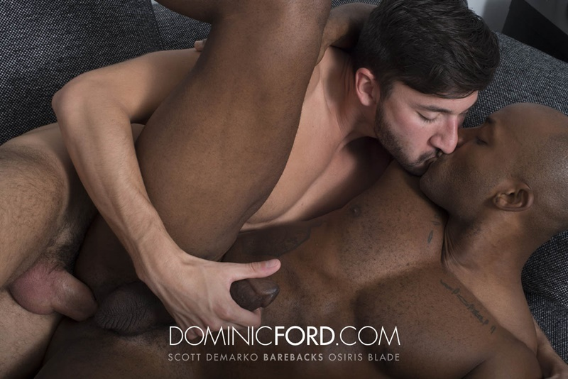 DominicFord hot naked big muscle dudes Bareback Scott DeMarco Breeds Osiris Blade raw big thick large dick sucking anal rimming 007 gay porn sex gallery pics video photo - Bareback: Scott DeMarco Breeds Osiris Blade's raw asshole