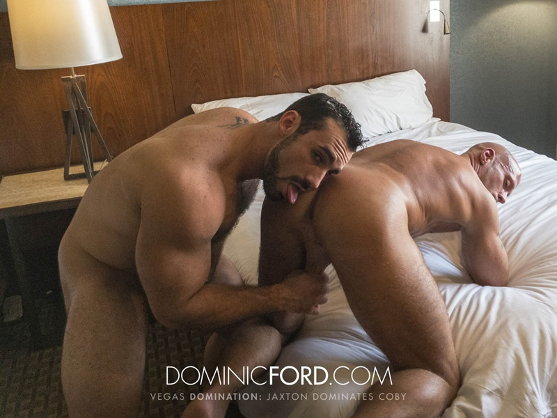 DominicFord Masculine muscular hairy hung aggressive Jaxton Wheeler dominates Coby Mitchell asshole big thick large dick sucking 014 gay porn sex gallery pics video photo - Masculine muscular hairy hung and aggressive Jaxton Wheeler dominates Coby Mitchell's asshole