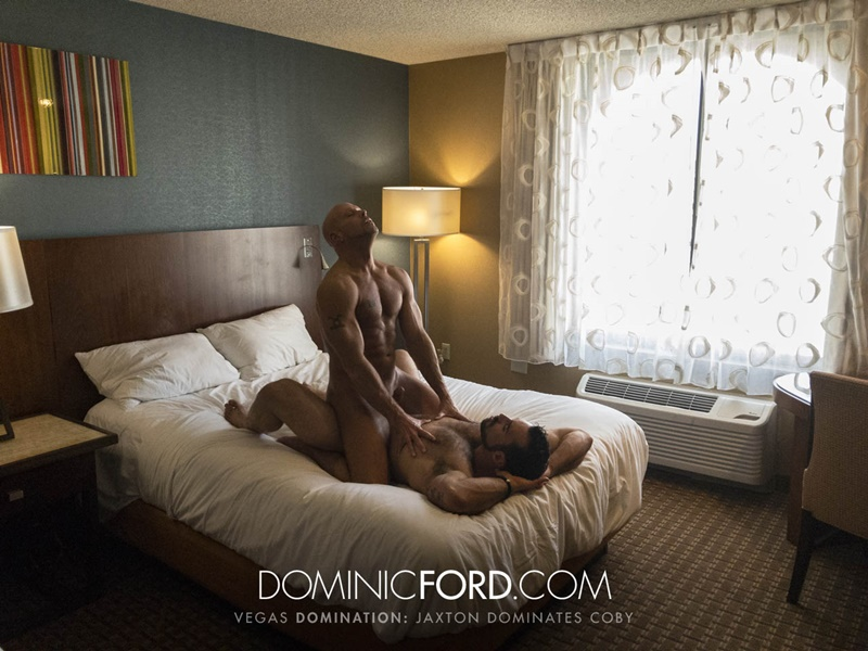 DominicFord Masculine muscular hairy hung aggressive Jaxton Wheeler dominates Coby Mitchell asshole big thick large dick sucking 016 gay porn sex gallery pics video photo - Masculine muscular hairy hung and aggressive Jaxton Wheeler dominates Coby Mitchell's asshole