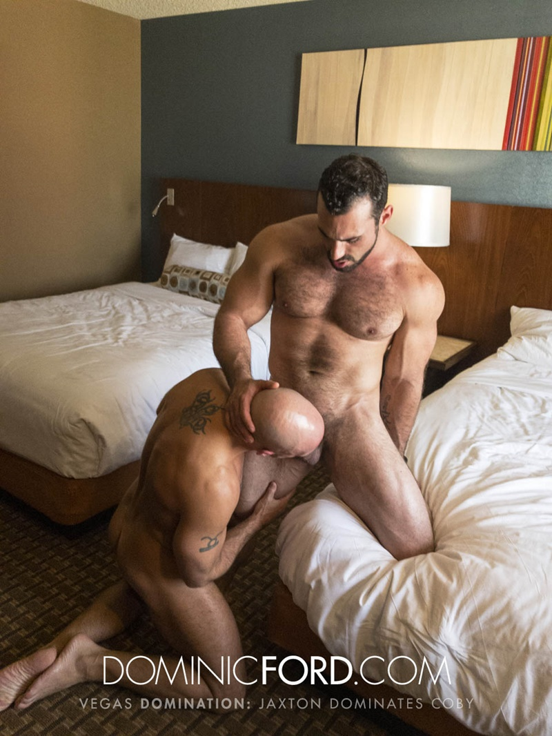 DominicFord Masculine muscular hairy hung aggressive Jaxton Wheeler dominates Coby Mitchell asshole big thick large dick sucking 019 gay porn sex gallery pics video photo - Masculine muscular hairy hung and aggressive Jaxton Wheeler dominates Coby Mitchell's asshole