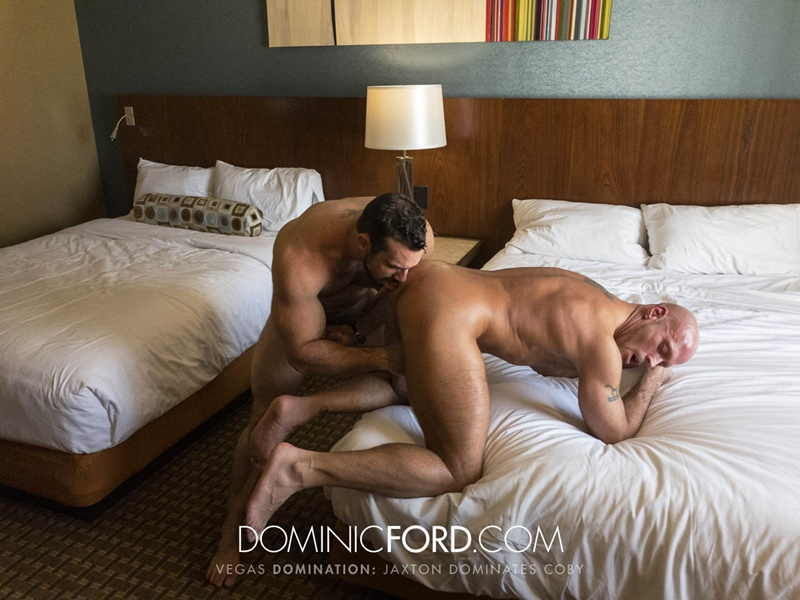 DominicFord Masculine muscular hairy hung aggressive Jaxton Wheeler dominates Coby Mitchell asshole big thick large dick sucking 020 gay porn sex gallery pics video photo - Masculine muscular hairy hung and aggressive Jaxton Wheeler dominates Coby Mitchell's asshole