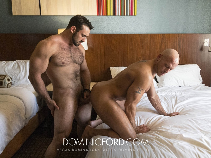 DominicFord Masculine muscular hairy hung aggressive Jaxton Wheeler dominates Coby Mitchell asshole big thick large dick sucking 021 gay porn sex gallery pics video photo - Masculine muscular hairy hung and aggressive Jaxton Wheeler dominates Coby Mitchell's asshole