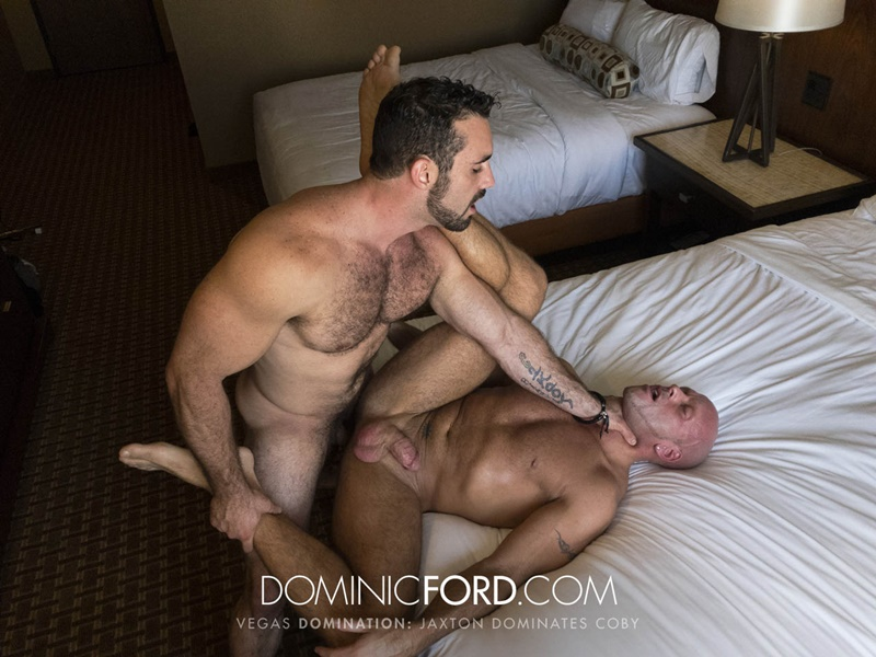 DominicFord Masculine muscular hairy hung aggressive Jaxton Wheeler dominates Coby Mitchell asshole big thick large dick sucking 025 gay porn sex gallery pics video photo - Masculine muscular hairy hung and aggressive Jaxton Wheeler dominates Coby Mitchell's asshole