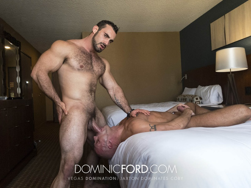 DominicFord Masculine muscular hairy hung aggressive Jaxton Wheeler dominates Coby Mitchell asshole big thick large dick sucking 026 gay porn sex gallery pics video photo - Masculine muscular hairy hung and aggressive Jaxton Wheeler dominates Coby Mitchell's asshole