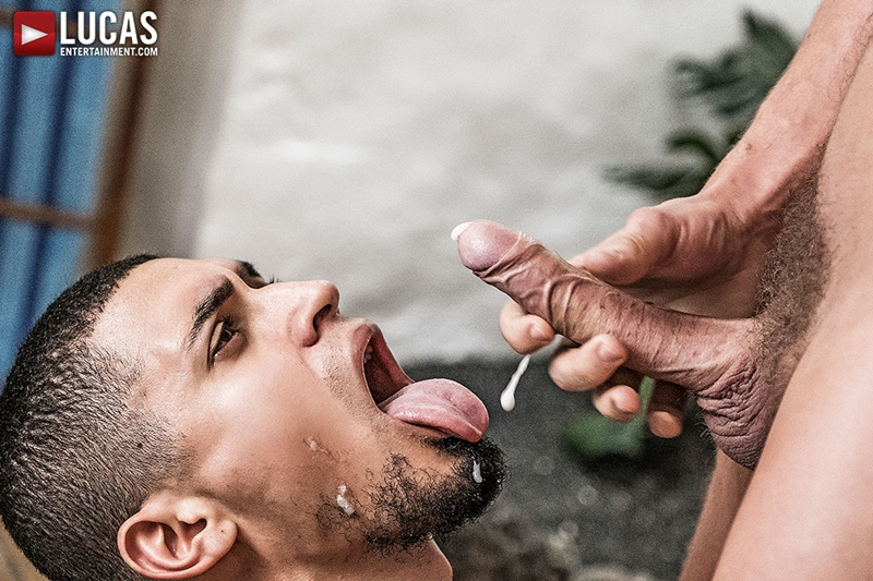 LucasEntertainment Ibrahim Moreno Bogdan Gromov double penetration fuck Damon Heart tight muscled ass spit roasting muscle butts 018 gay porn sex gallery pics video photo - Ibrahim Moreno and Bogdan Gromov double fuck Damon Heart tight muscled ass