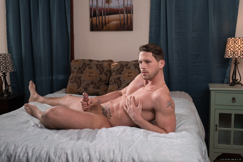 IconMale sexy smooth ripped abs Roman Todd licking Billy Santoro ass rimming tongue hairy chest muscle hunk big thick dick 004 gay porn sex gallery pics video photo - Roman Todd returns the favour by licking Billy Santoro's ass rimming him deeply with his tongue