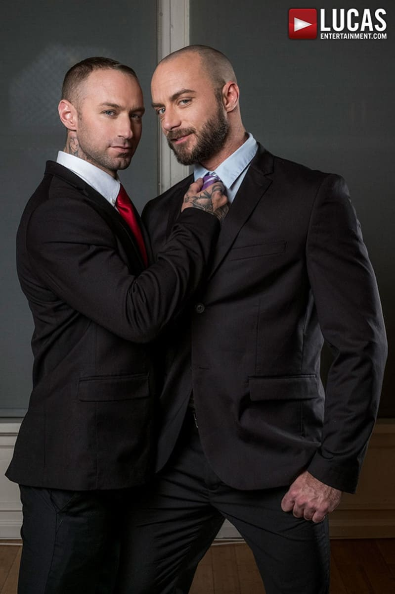 LucasEntertainment Jessie Colter bareback ass fucked raw dick sex toys anal beads dylan james 007 gallery video photo - Suited gay ass fucking Jessie Colter and Dylan James enjoy a hot anal beads ass fucking session