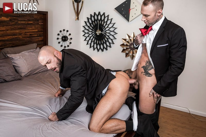 LucasEntertainment Jessie Colter bareback ass fucked raw dick sex toys anal beads dylan james 011 gallery video photo - Suited gay ass fucking Jessie Colter and Dylan James enjoy a hot anal beads ass fucking session