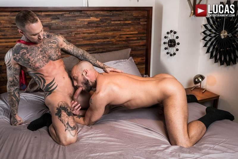 LucasEntertainment Jessie Colter bareback ass fucked raw dick sex toys anal beads dylan james 018 gallery video photo - Suited gay ass fucking Jessie Colter and Dylan James enjoy a hot anal beads ass fucking session