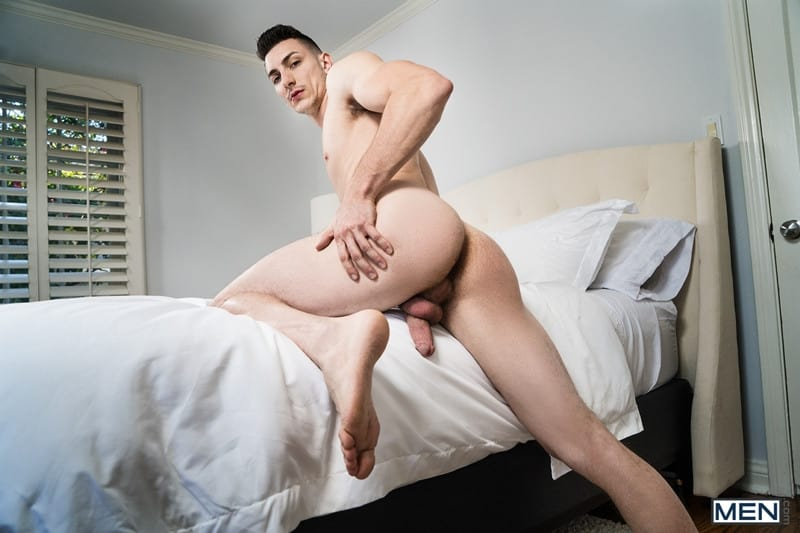 Men for Men Blog Gay-Porn-Pics-007-Pierce-Paris-Michael-Jackman-huge-long-dick-pounds-tight-hole-anal-fucking-Men Pierce Paris' huge long dick pounds Michael Jackman's tight hole all over the bedroom Men
