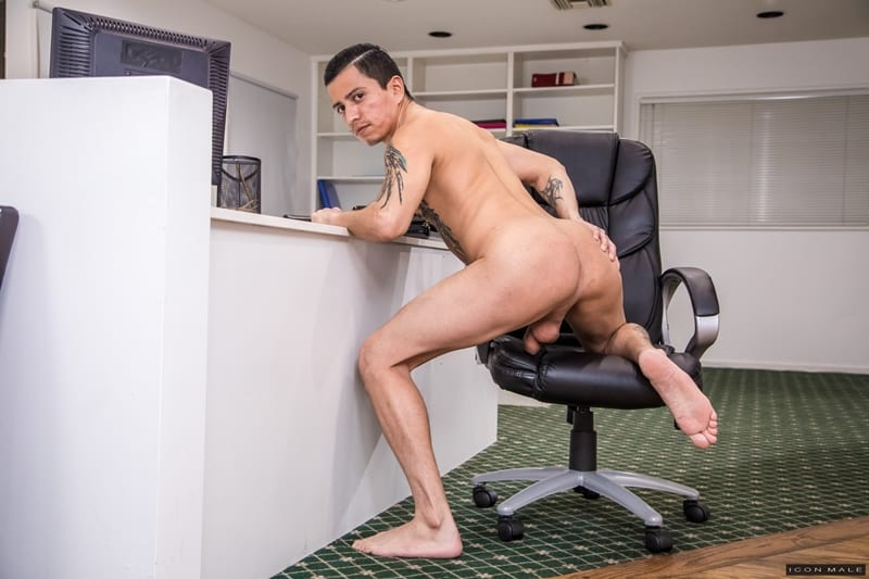 Hot young ripped hunk Nick Fitt hot asshole deep fucked Aaron Blonco big latino cock IconMale 003 gay porn pics - Hot young ripped hunk Nick Fitt's hot asshole deep fucked by Aaron Blonco's big latino cock
