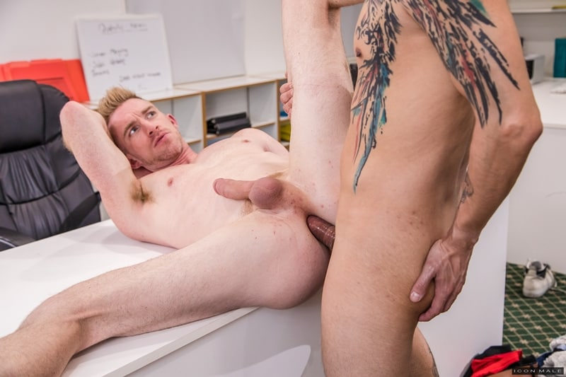 Hot young ripped hunk Nick Fitt hot asshole deep fucked Aaron Blonco big latino cock IconMale 009 gay porn pics - Hot young ripped hunk Nick Fitt's hot asshole deep fucked by Aaron Blonco's big latino cock